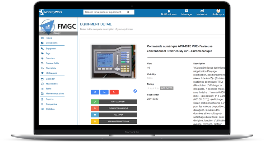 Maintenance manager - CNC Machines : Job fact sheet #2: