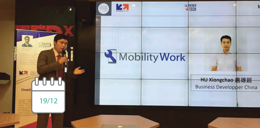 Mobility Work au French Tech Tour China