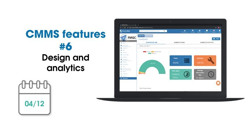 CMMS new features: design and analytics