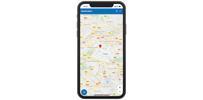 Machine geolocation in my Mobile CMMS
