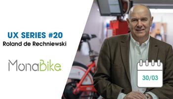UX Series 20: a new CMMS for Monabike