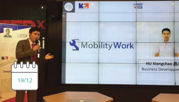 Mobility Work at the French Tech Tour China 2018