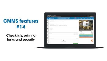 CMMS new features: creating, printing and security