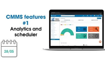 CMMS New Features: Analytics and Scheduler